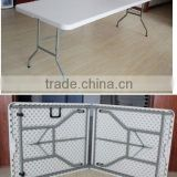 Wholesale Outdoor White Stong And Lightweight Cheap Durable Leisure Plastic Folding Table