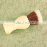 Wood color Pure Badger Shaving Brush Resin Handle