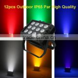 12x6in1 IP65 Waterproof LED outdoor light for wedding decoration