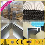 Hot sales aluminum extrusion profile channel/track ground track for frameless glass top hang/n channel for Aluminum glass window
