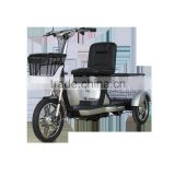 electric tricycle 3 wheel electric bicycle for adult with folding
