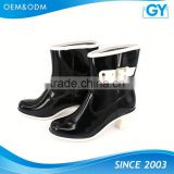 Factory best price all color available popular rubber cowboy rain boots wholesale