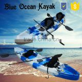 Blue Ocean 2015 hot sale May style double fishing kayak/atv double fishing kayak/professional double fishing kayak