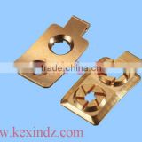 CNC machine high pressure foot chromed copper o-ring switch gasket