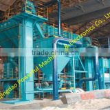 Resin sand process molding production line