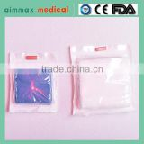certificate approved 100% cotton absorbent sterile disposable surgical gauze sponges / gauze pad /gauze swab