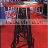 Aluminium Truss Bar Table And Stools For Trade Show