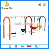 Outdoor amusement equipment kids boat swing to the park