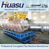 PVC DWC Pipe Machinery Corrugated Pipe Extrusion Line