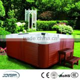 Outdoor 3 Seat 2 Lounger Large Square Freestanding Jetted Bathtub Massage Whirlpool JY8012