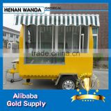 Street Mobile Ice Cream vending cart/hot dog cart/ Mobile Kiosk trailers/carriages restaurant