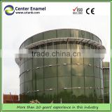 China Center Enamel Portable Assembly Biogas Anaerobic Digester Tank for Sewage Water Disposal