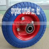 "China Manufacturer Wholesale 6""*2"" PU Foam Wheels for Beach Cart"