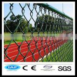 galvanized chain link fence, stainless steel chain link fence and PVC coated iron chain link fence