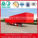 Tri-Axles Container Type Semi Trailer / Closed Box Trailer / Dry Van Trailer