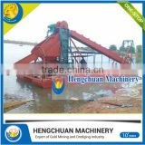 Low Price small gold dredging machine for sale with CE certificate
