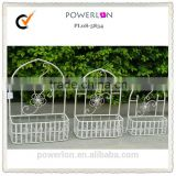 Adorable Metal Flower Hanging Baskets Plant Holder