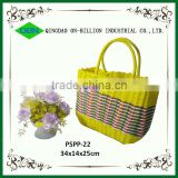 Wholesale Handmade Beach Plastic Woven Bag