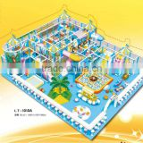 Professional Soft Indoor Equipment Play Ground For Sale LT-1010A