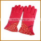 long finger acrylic snowboard gloves for adults