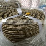 China manufacturer basalt fiber braided square sealing rope