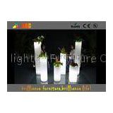 LED ice bucket & LED Flower Pot / planter , Glowing bar furniture