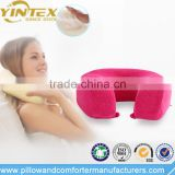 Wholesale Soft Travel Pillow Memory Foam U Shape Neck Pillow