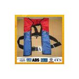 Hot Sale Automatically Inflation Lifejacket/Single Chamber Inflatable Lifejacket  Supplier