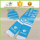 100% wool cheap wholesale iceland soccer scarf and hat set
