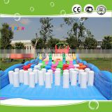 INQUIRY about 2017 CE latest style amusement inflatable park,jumping castle for sale