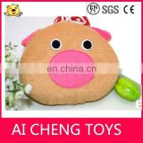 Factory customize plush bath toy for baby Lovely plush bath sponge toy