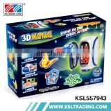 DIY hot sale educational game cheap 3d printer toy wholesale