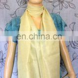 Beautiful ethnic vintage styled Banarasi silk stole/neck-head wrap/dupatta perfectly go with traditional kurtas/indian dresses