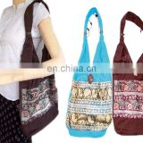 cotton canvas lady's fashion totebags