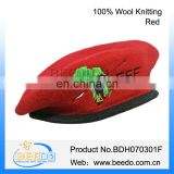 High quality mens wool army beret