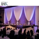 RK wedding backdrop with chiffon drape for wedding decoration for sale