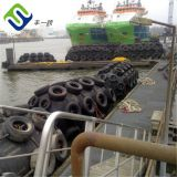 Pneumatic rubber marine floating fender