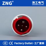Factory Outlet 63A 4Pin Industrial Waterproof Plug IP67, 400V Industrial Power Plug 63A 3P+PE
