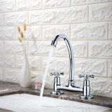 Brass Kitchen Faucet Single Handle Hot&Cold Sink Faucet