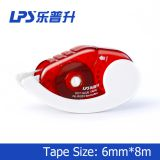 Plastic Two Sides Glue Tape Runner Office Sticky Roller Glue Tape With Sliding Push Cap