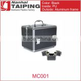 Rolling Beauty Case Aluminum Tool Case With Drawers