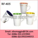 Custom Designed Personalized Stoneware Drinking Promotional Tea Mugs in Zibo