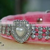 Rhinestone Pet collar Dog collars and leash and cat collar