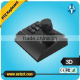 rs485 3D ptz keyboard controller mini joystick keyboard for speed dome camera cctv keyboard