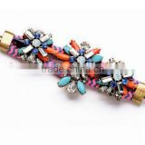 Hot candy European Fashion acrylic bracelets plant multicolor Bracelet For Women bangles Luxury High Quality rope chain Jewelry