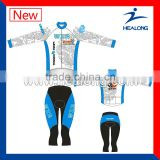 100% Polyester Sublimated Bicycle Jacket