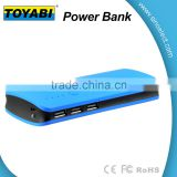 Power Bank 10000mAh External Battery Charger 3 USB Charger with Flashlight Fast Charging of Phones