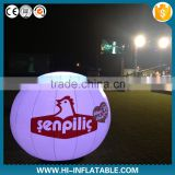 Colorful Customized Fantastic hanging decorative inflatable hanging ball with LED lights