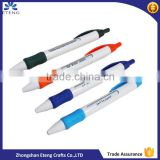 High quality promotional plastic pen,customzied printing ballpoint pen