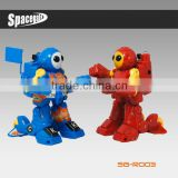 2013 newest gifts nunchuck controller and somatosory operation rc fighting robot